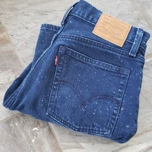 Levi Wedgie fit galaxy jeans